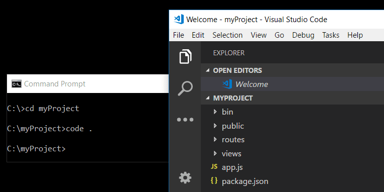 The Visual Studio Code Command Line Options